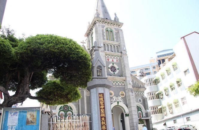 玫瑰聖母教堂 | 玫瑰堂 | 前金天主堂 | 愛河橋畔 | 近代台灣天主教會的發源地