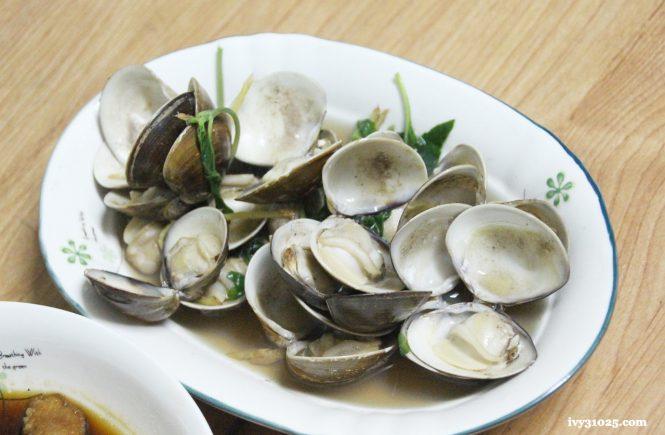 清蒸蛤蠣 | 鑄鐵鍋料理 | 大古鐵器 | 家庭日常料理 | 小小下酒菜