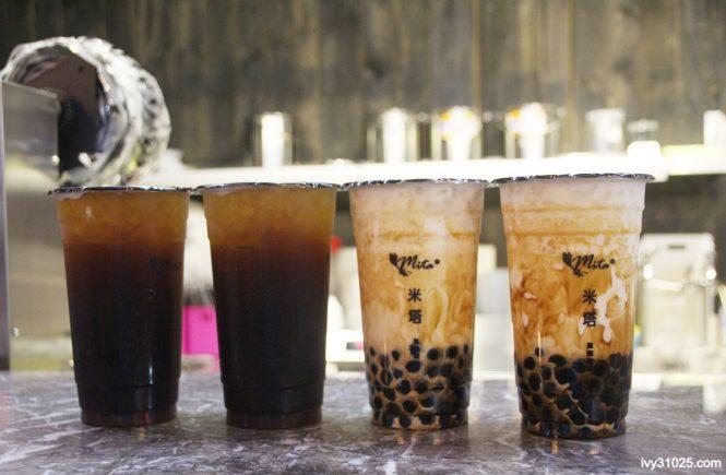 米塔黑糖飲品 | 黑糖珍珠鮮奶 | 冬瓜檸檬黑糖 | 濃濃黑糖香味 | 三多商圈美食