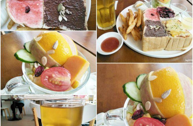 6吋盤早午餐 - 武營店 | 文山清茶 | 混搭磚塊拼盤 | 午後用餐時光 | 高雄美食